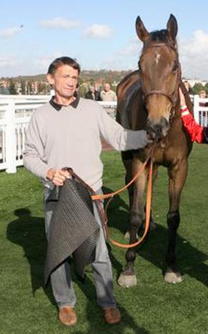 François Plouganou avec le cheval Skyline Du Casse
